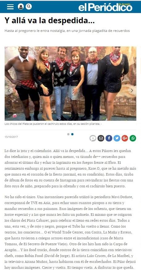2017.10.15 – El periódico de Aragón